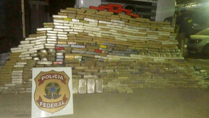 PF e PRF apreendem quase 1 tonelada de cocaína avaliada em R$ 16 milhões