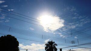 Sol entre nuvens e possibilidade de chuva nesta sexta em Três Lagoas, diz Inpe