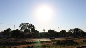 Semana começa quente e sem previsão de chuva em Três Lagoas