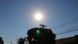 Quarta-feira será de calor e tempo firme em Três Lagoas