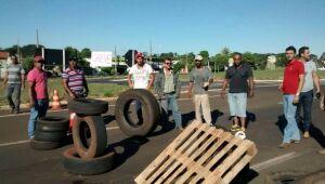 Caminhoneiros denunciam agressão de ex-prefeito