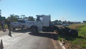 Motoristas aderem a paralisação em Paranaíba e fecham rodovias