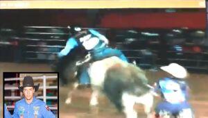 Peão de 24 anos morre pisoteado por touro em rodeio de Paranaíba; imagens fortes
