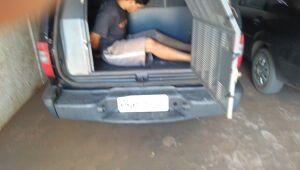 Ladrão invade casa e rouba carro durante a madrugada