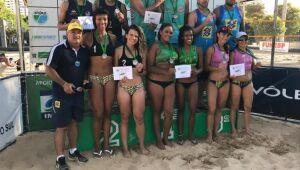Atletas vencem Circuito Estadual de Vôlei de Praia em todas as categorias