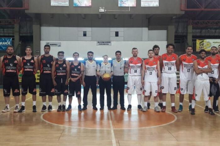 Equipe de São Gabriel do Oeste assume liderança do Novo Basquete MS Adulto