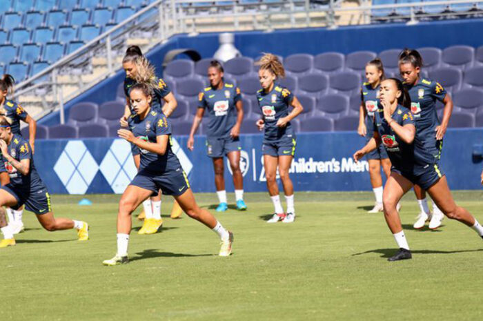 Futebol feminino do Brasil estreia hoje no Torneio das Nações nos EUA