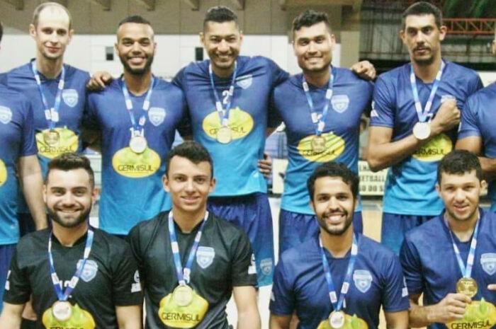 Equipe de vôlei da capital é campeã dos Jogos Abertos de Campo Grande