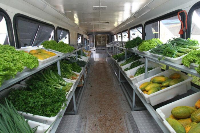 Projeto Saladão vende produtos de pequenos agricultores na Capital