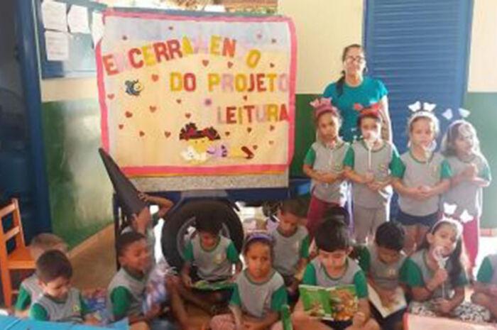 'Projeto de Leitura' é desenvolvido em Centro Municipal de Educação Infantil de Cassilândia