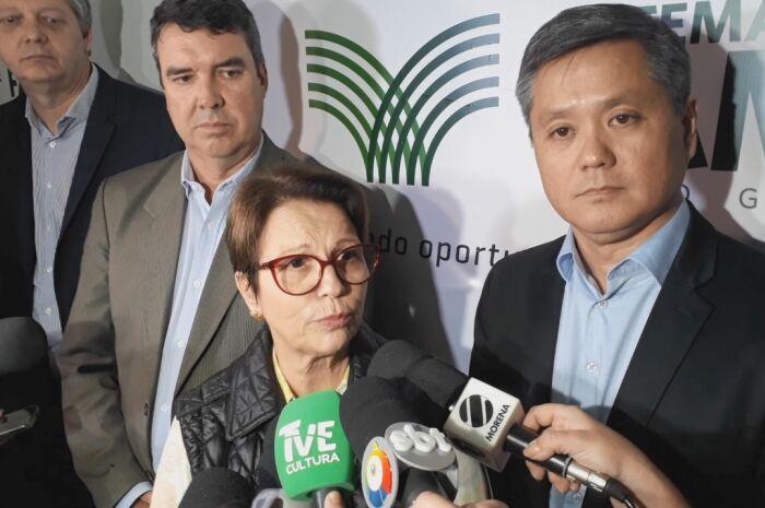 Tereza Cristina diz que Bolsonaro está alinhado com o setor rural brasileiro