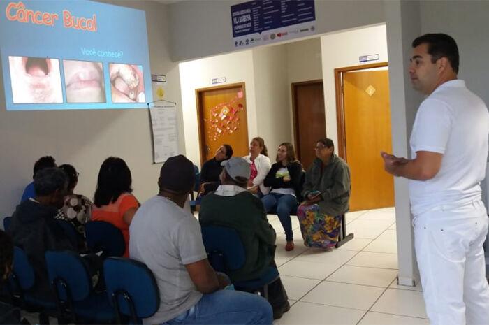 Aparecida do Taboado realiza campanha de prevenção do Câncer Bucal