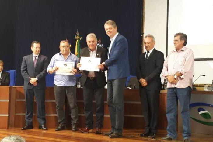 Três Lagoas recebeu dois prêmios nesta semana