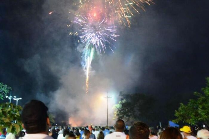 Show pirotécnico para virada do ano e da inauguração natalina custará R$ 185 mil