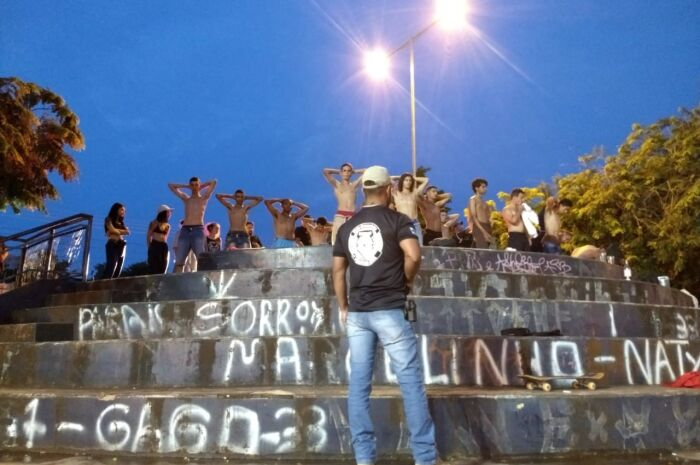 Operação mobilizou 180 policiais em bairros de Campo Grande na noite de ontem