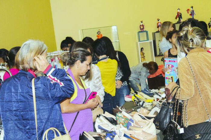 AACC realiza 'Bazar do Bem' em Campo Grande
