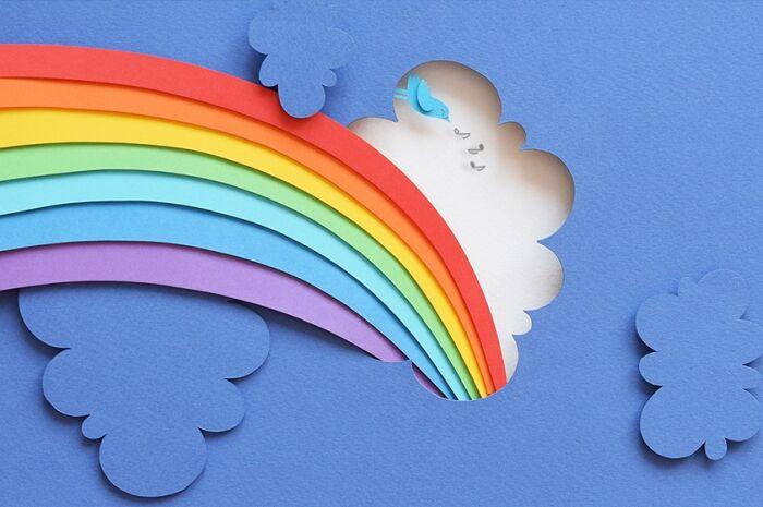 SE7E cores do arco-íris