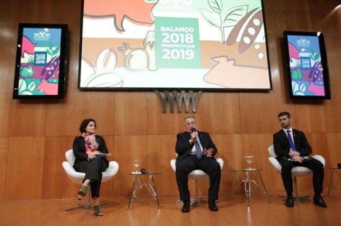 CNA faz balanço positivo do agro em 2018 e projeta otimismo para ano que vem