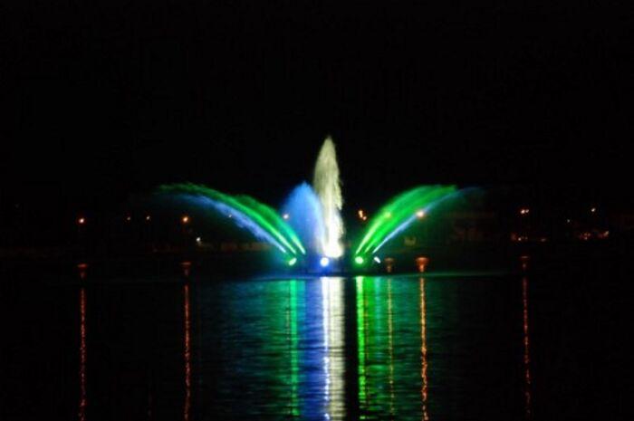 Fonte luminosa da Lagoa Maior será inaugurada hoje