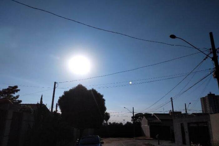 Terça-feira será de sol e máxima de 35ºC Três Lagoas, diz Inpe