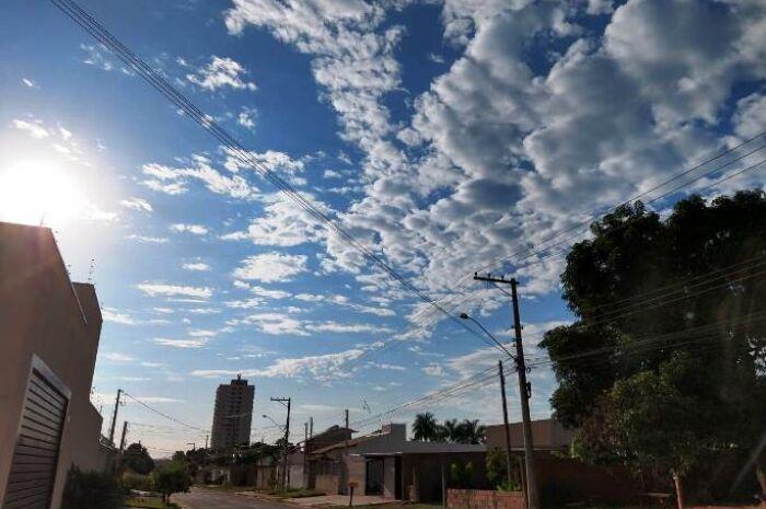 Inpe prevê pancadas de chuva e calorão de 37ºC em Três Lagoas nesta quarta