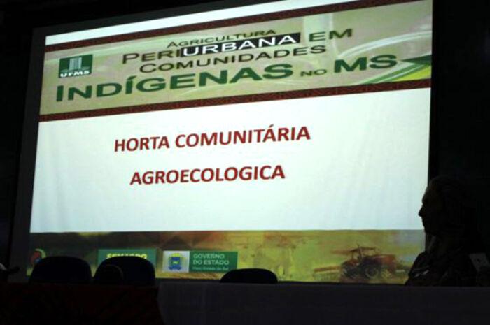 Semagro e UFMS lançam projeto de hortas agroecológicas