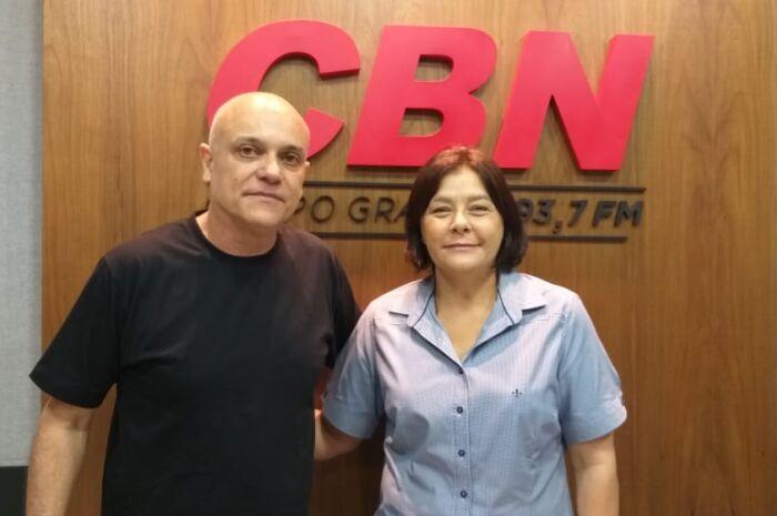 Zé Marques recebe presidente da Casa da Criança Peniel
