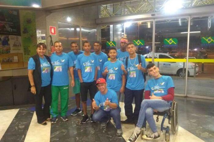 Sete alunos de Três Lagoas disputam etapa nacional das Olímpiadas das APAEs