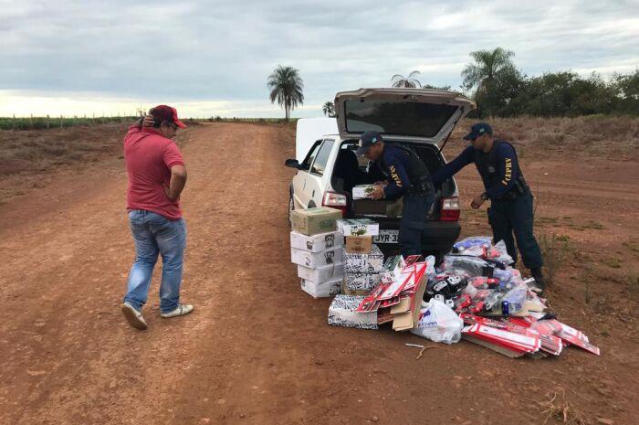 Em Ponta Porã, operação combate crimes de fronteira e fiscaliza o trânsito
