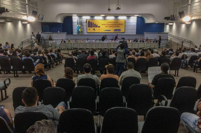 Audiência Pública discute Lei do Silêncio e funcionamento de bares