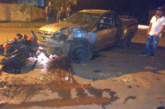 Motorista alcoolizado causa acidente grave em avenida e é preso em flagrante