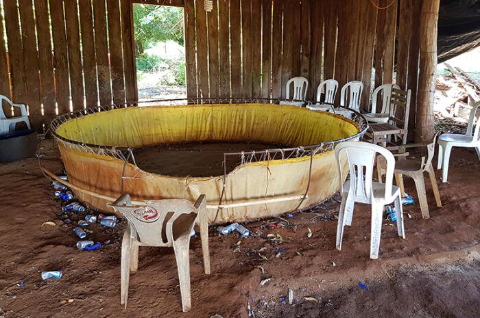 Rinha de galo é fechada em Dourados