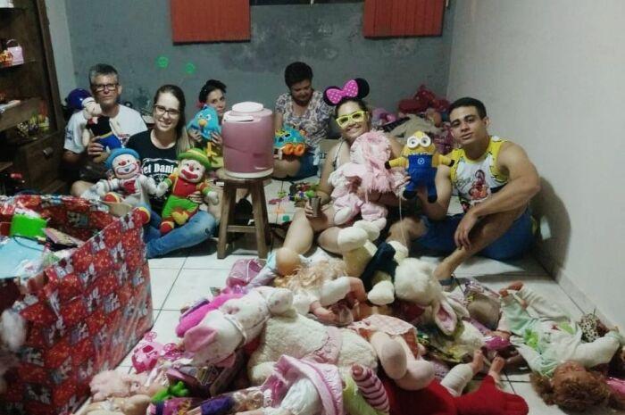ONG promove festa para crianças carentes