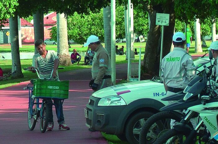Quinze bicicletas são apreendidas na Lagoa Maior