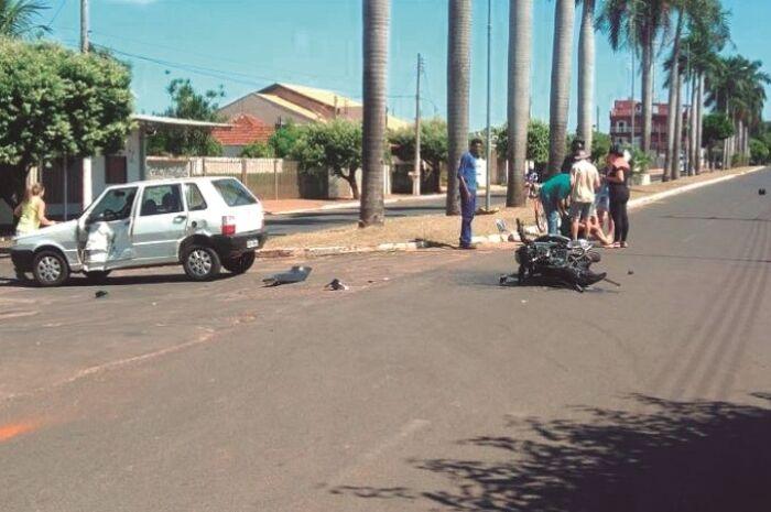 Acidentes de trânsito caem 40% em Paranaíba