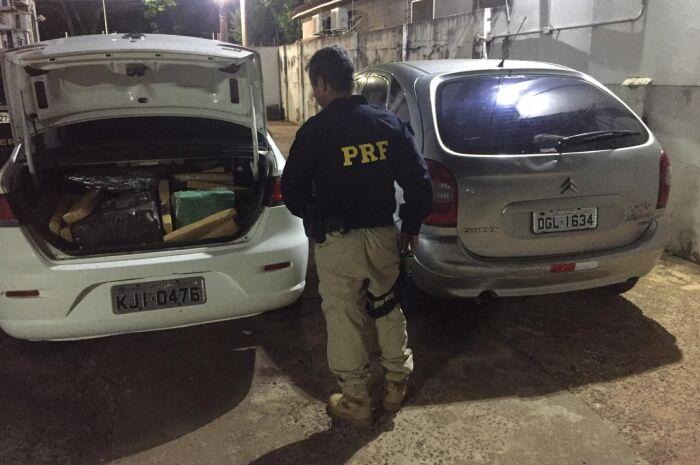 Polícia intercepta meia tonelada de maconha que ia para São Paulo