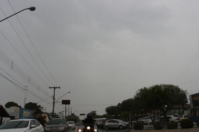 Três Lagoas está na lista de alerta para risco de tempestade nesta terça-feira