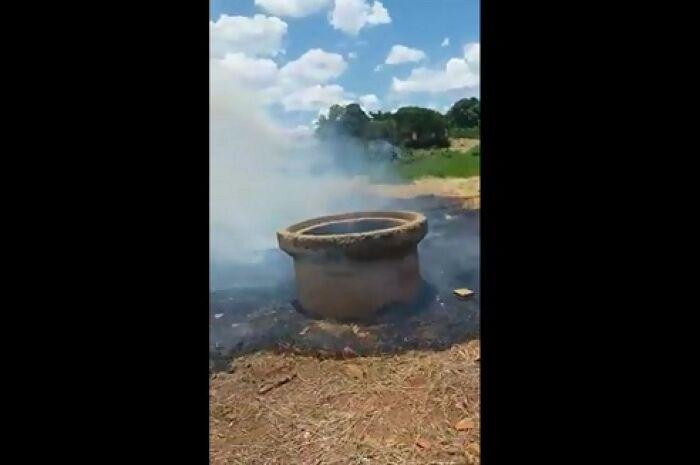 'Tinha que colocar fogo é na prefeitura', diz moradora revoltada com situação de bairro