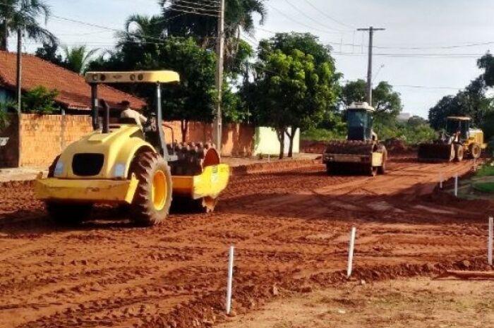 Empresa é contratada por quase R$ 365 mil para obra de asfalto no Jardim Dourados