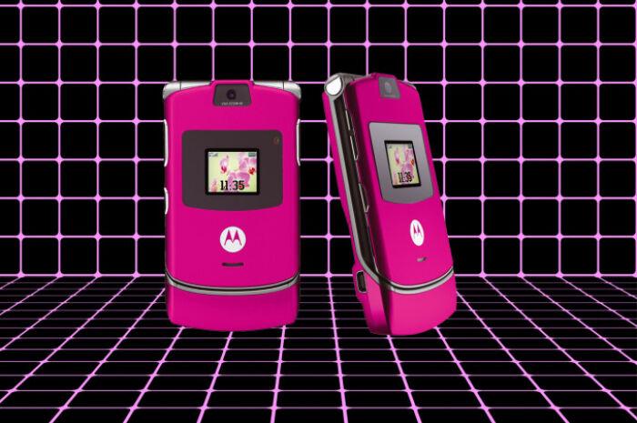 Das profundezas dos anos 2000, Motorola V3 vai voltar a ser vendido