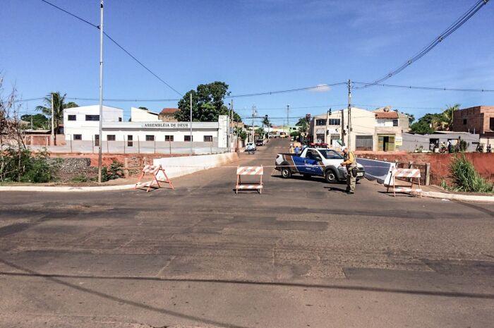 Ponte da Rua Bom Sucesso com Avenida Ernesto Geisel fecha por 45 dias na Capital