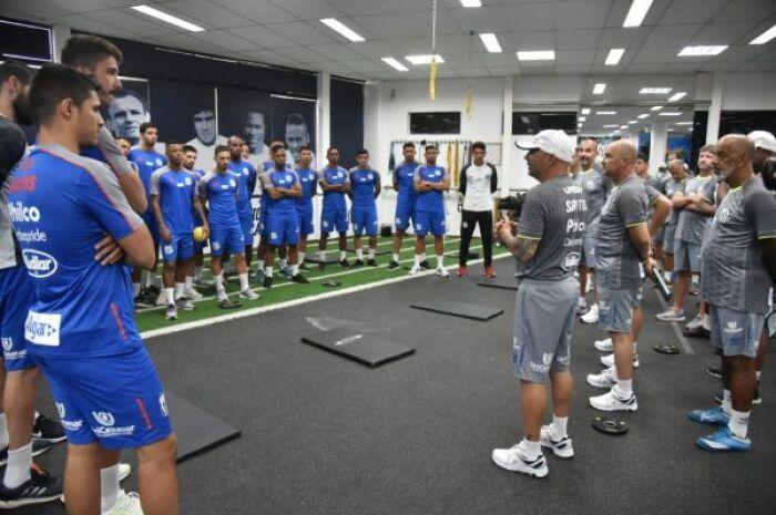 Sampaoli inicia treinos no Santos para estreia dia 19