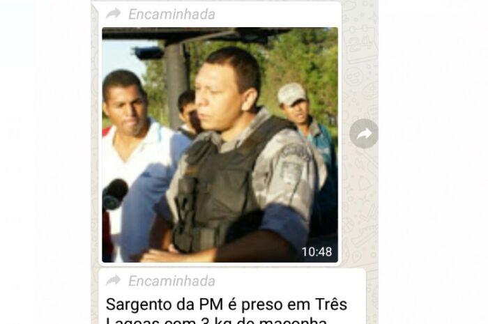 PM quer investigação do uso de sua imagem em associação a prisão feita pelo Gaeco