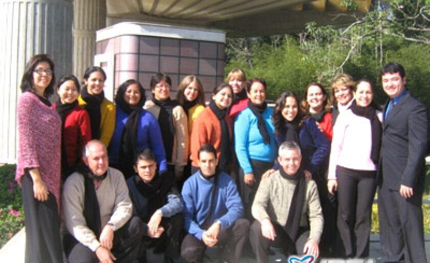 Grupo de cantores que se apresentará no Johrei Center, em Três Lagoas