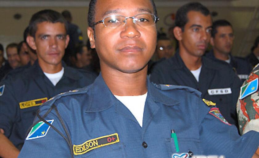 O comandante do Pelotão de Trânsito de Três Lagoas, Edílson de Oliveira Ramos