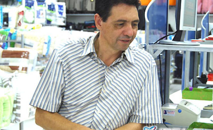 Antônio Donizete Lemes, gerente da Tecidos Três Lagoas