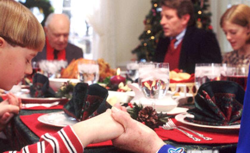 Quando temos nossa família e o que encontramos dentro de casa é paz e sossego durante o ano, sabemos bem o que vamos encontrar na reunião em volta do Natal