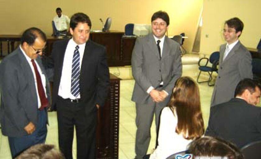 Solenidade de posse do Juiz de Direito, Eduardo Floriano Almeida