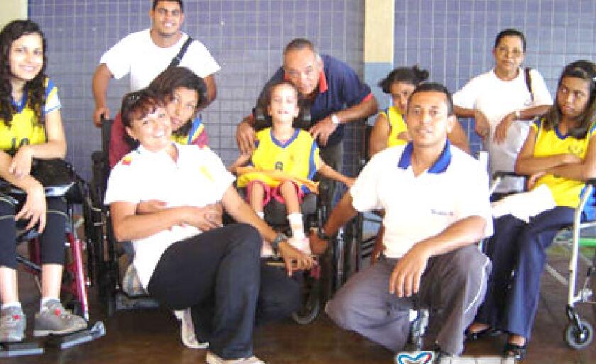 Atletas do município