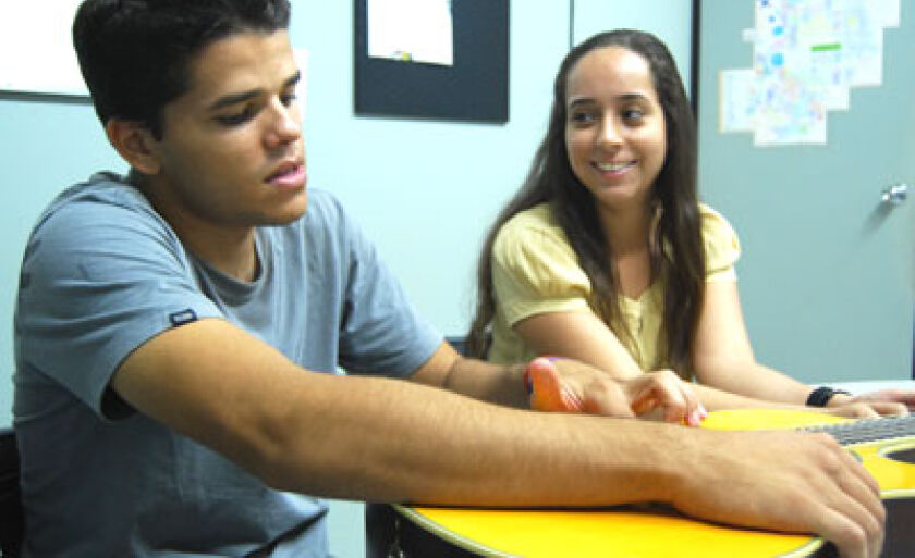 Débora e Luiz Felipe